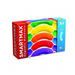 SMARTMAX SMX101 Klocki magnetyczne - Zestaw 6 elementów zakrzywionych