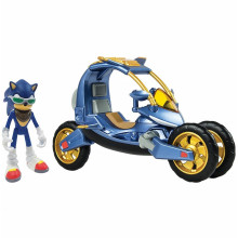 Sonic Boom - Pojazd Blue Force One - Figurka Sonica T22114