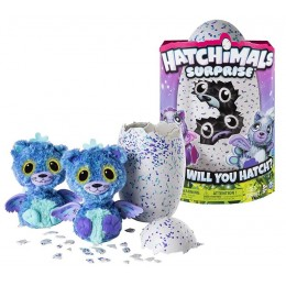 Hatchimals Surprise 6037096 - Zabawka interaktywna - Hatchimals Surprise Bliźniaki - Kotki