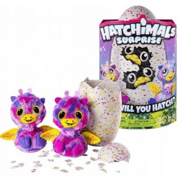 Hatchimals Surprise 6037097 - Zabawka interaktywna - Hatchimals Surprise Bliźniaki - Żyrafki