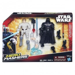 Hasbro HERO MASHERS STAR WARS - Dwupak B3829 SKYWALKER VS VADER
