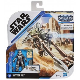 STAR WARS – Mission Fleet – Speeder Bike + figurki E9680