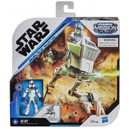 STAR WARS – Mission Fleet – AT-RT + figurka Kapitan Rex E9681