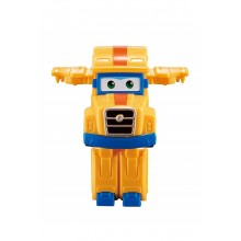 Super Wings - Transformujący Poppa Wheels - Pojazd i robot 7cm - 720025