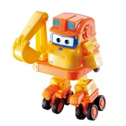 Super Wings - Transformująca Koparka Scoop - Pojazd i robot Build-it Buddies 730213