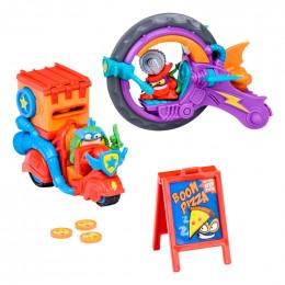 Super Zings - Pizza Riders - Zestaw z pojazdami 08089