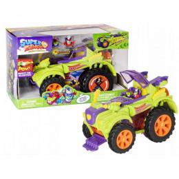 Super Zings - Monster Roller - Pojazd Superbohaterów z 2 figurkami - 09888