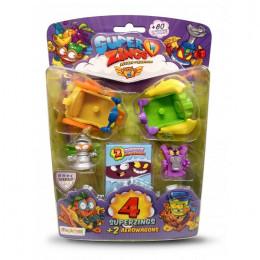 Super Zings - seria 5 - Zestaw 4 figurki + 2 Aerowagony – 11249