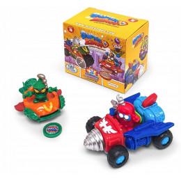 Super Zings - seria 4 - Dual Box: 2 figurki + 2 pojazdy 12215