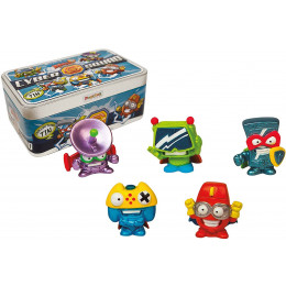 Super Zings - Cyber Squad - Metalowe pudełko z figurkami 7273