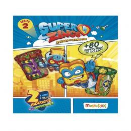 Super Zings - Zestaw dwóch figurek - niespodzianek z kryjówkami - 2 Seria 8485