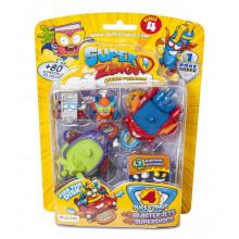 Super Zings - seria 4 - Blasterjet - Dwa pojazdy + 4 figurki - 9468