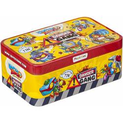 Super Zings 4 - Danger Gang - Metalowe pudełko z figurkami 9505