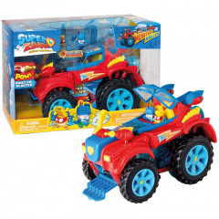 Super Zings - Monster Roller - Pojazd Superbohaterów z figurkami 09680
