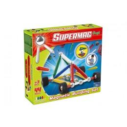SUPERMAG - Klocki magnetyczne - Maxi Wheels 44 el. 0109