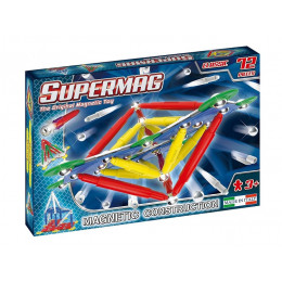 SUPERMAG – Klocki magnetyczne Classic – 72 elementy – 0401