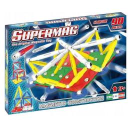 SUPERMAG – Klocki magnetyczne Classic – 98 elementów – 0402