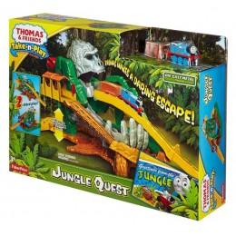 Kolejka Tomek Take-N-Play DGK89 Przygoda w dżungli