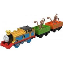 Kolejka Tomek i Przyjaciele Track Master™ FXX55 Lokomotywa z napędem Tomek Monkey Mania
