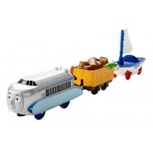 Fisher Price - Trackmaster - pociąg Hugo i Skiff DVF84