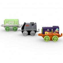 Tomek i Przyjaciele Minis - Mini lokomotywy - Bert, Nieznośny Wagon i Szymek DWG16