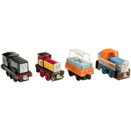 Kolejka Tomek i Przyjaciele Adventures DXT81 Czteropak pojazdów - Diesle z warsztatu