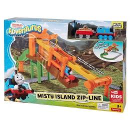 Kolejka Tomek i Przyjaciele Adventures Przeprawa na Wyspie Mgieł FBC60