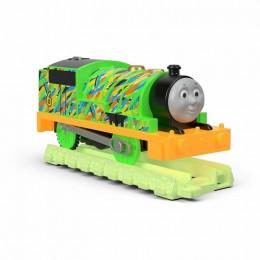 Tomek i Przyjaciele Trackmaster - Hyper Glow - Świecący Percy z torami FVJ74