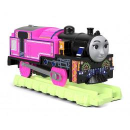 Tomek i Przyjaciele Trackmaster - Hyper Glow - Świecąca Ashima z torami FWC53