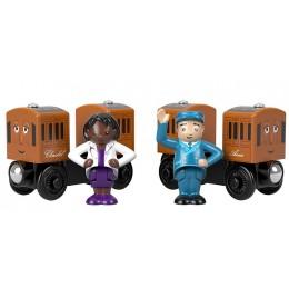 Kolejka drewniana Tomek i Przyjaciele – Annie i Clarabel + figurki GGH17