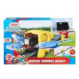 Tomek i Przyjaciele Trackmaster – Przejazd przez tunel + lokomotywa Diesel - GHK73