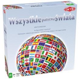 TACTIC 41269 Gra edukacyjna - Wszystkie państwa świata