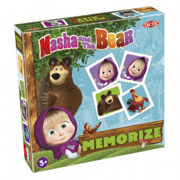 Tactic - Gra pamięciowa Memory - Masza i Niedźwiedź 56054