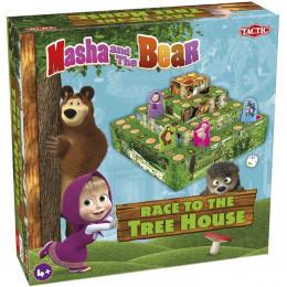 Tactic - Gra planszowa Węże i drabiny - Masza i Niedźwiedź 56056