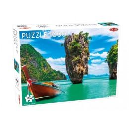 Tactic – Puzzle 1000 elementów – Egzotyczna plaża – 56622