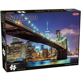 TACTIC 55262 Puzzle Most Brookliński 500 el.