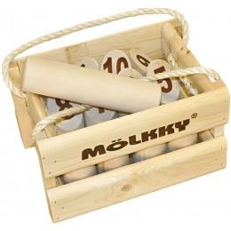 Tactic - Mölkky - Fińska gra plenerowa - Kręgle drewniane 40268