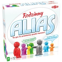 TACTIC - Alias Rodzinny - Gra planszowa 53191