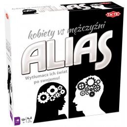TACTIC 53703 Gra planszowa ALIAS - Kobiety vs mężczyźni