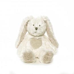 TeddyKompaniet - Maskotka pluszowa - Kremowy Zając 24cm Teddy Cream 1554