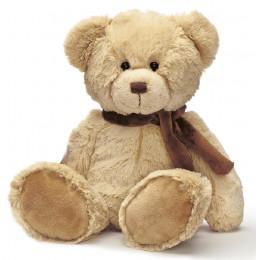 TeddyKompaniet - Maskotka Teddy Bears - Miś z szalikiem 34 cm - 2094