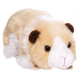 TeddyKompaniet - Maskotka Teddy Farm -  Świnka morska beżowa 17 cm - 2532
