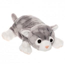 TeddyKompaniet 2537 Maskotka Katanguar - Kot szary w cętki