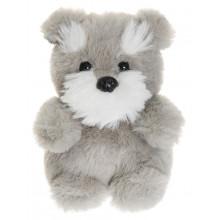 TeddyKompaniet - Maskotka Teddy Dogs - Piesek szary 12 cm - 2914