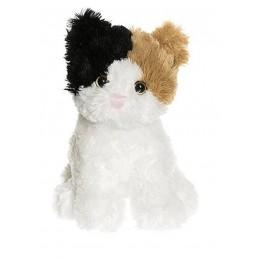 TeddyKompaniet 2007 Maskotka Busiga Katter - Kotek biały w ciapki