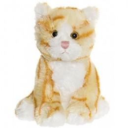 TeddyKompaniet 2007 Maskotka Busiga Katter - Kotek rudy w paski
