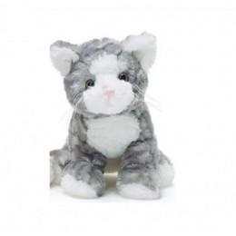 TeddyKompaniet 1778 Maskotka Teddy Cats -Kotek szary w paski