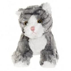 TeddyKompaniet 2007 Maskotka Busiga Katter - Kotek szary w paski