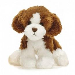 TeddyKompaniet 2008 Maskotka Busiga Hundar - Piesek brązowo-biały