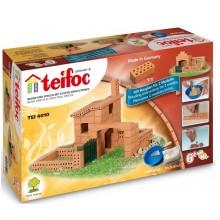 Teifoc 4010 Budowle z cegiełek – Mały domek 2 plany